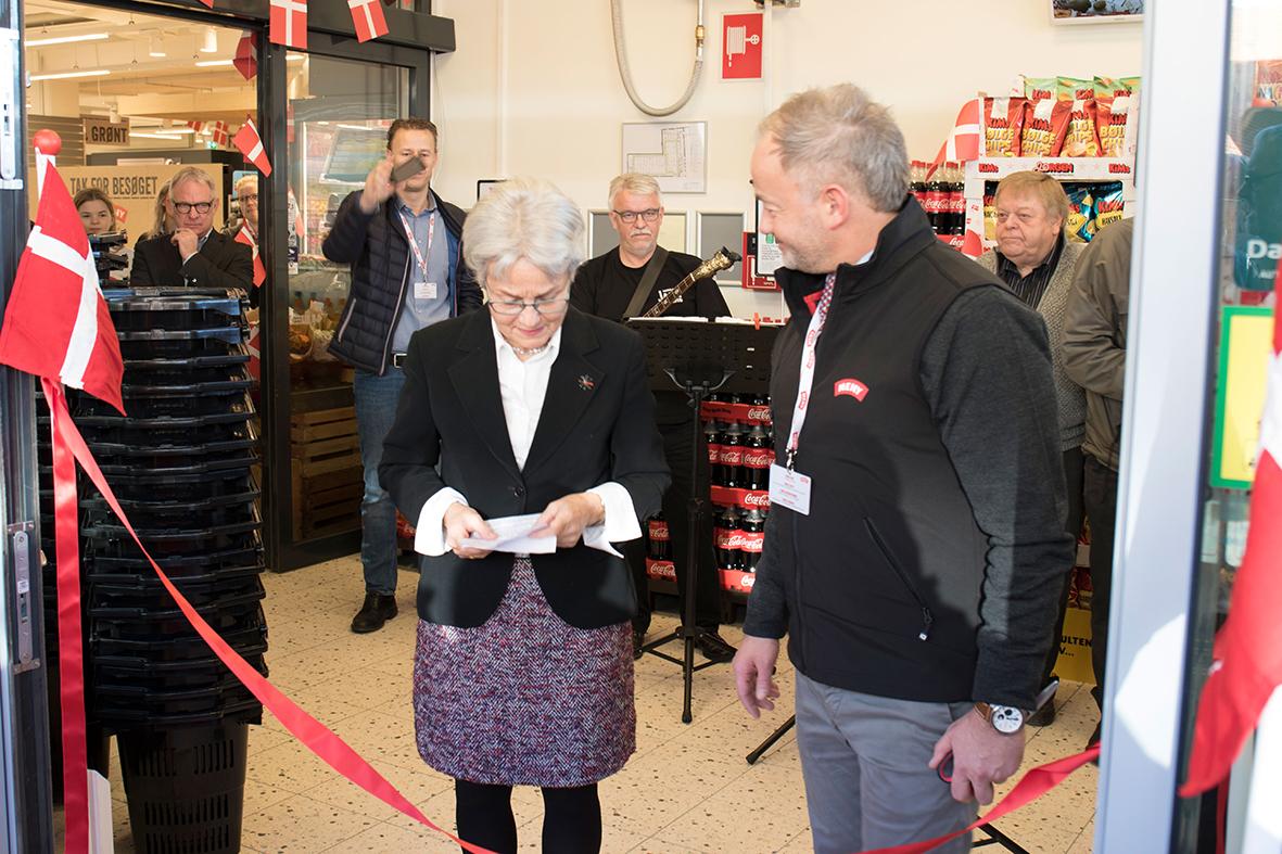 Fantastisk åbningsfest hos MENY i Støvring