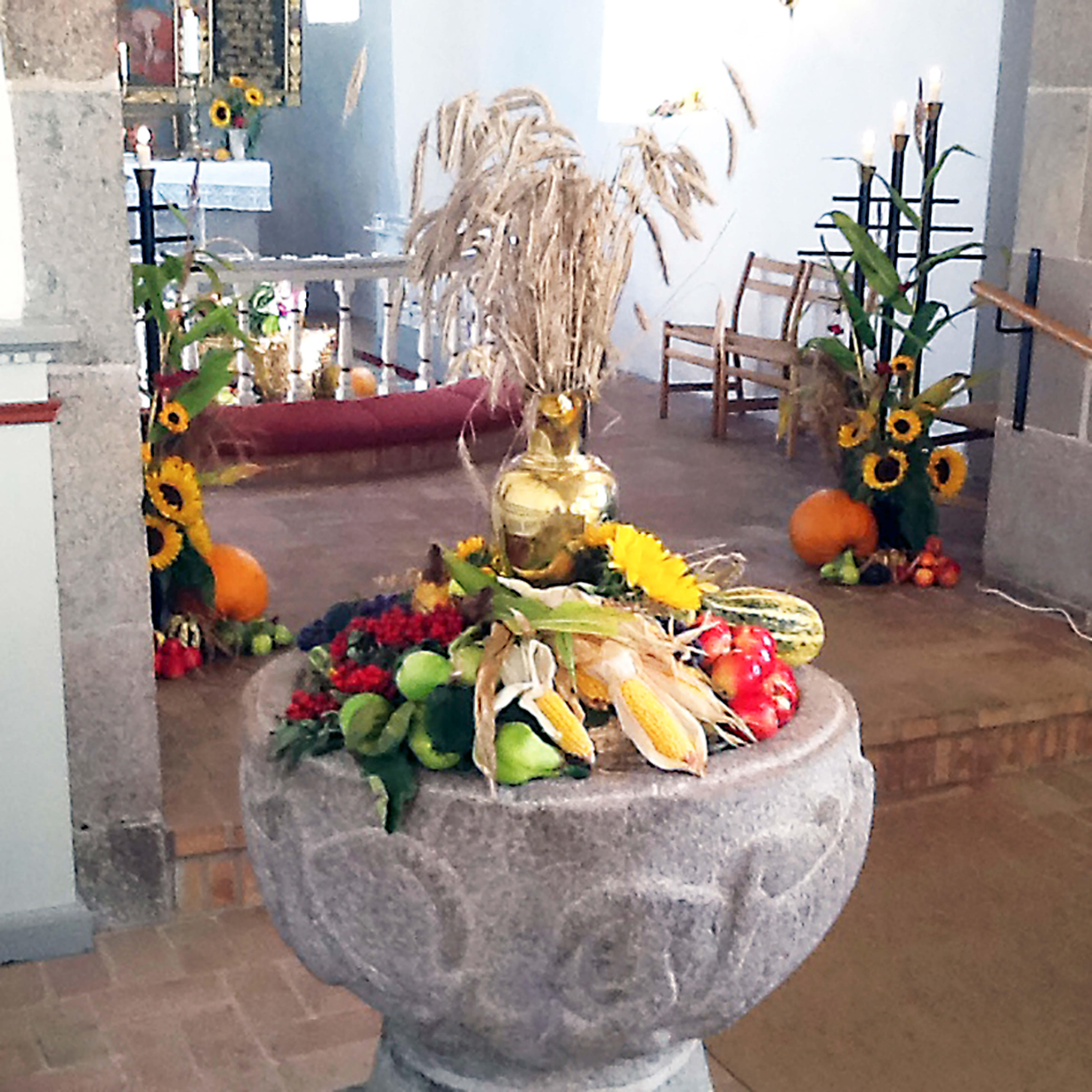 Høstgudstjeneste i Veggerby Kirke