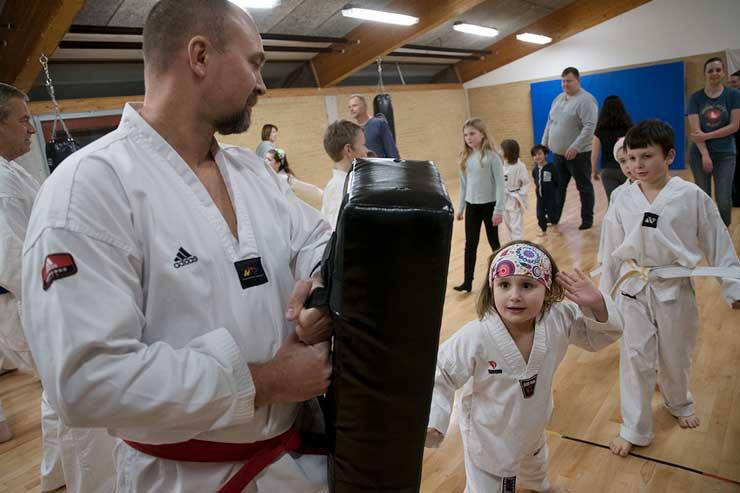 Nyt fra Rebild Taekwondo klub