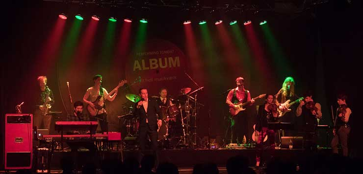 Ziggy Stardust genopstod fredag aften i STUBhuset