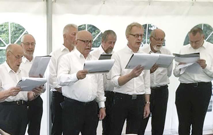 Veggerby Kirkes Mandskor starter ny sæson