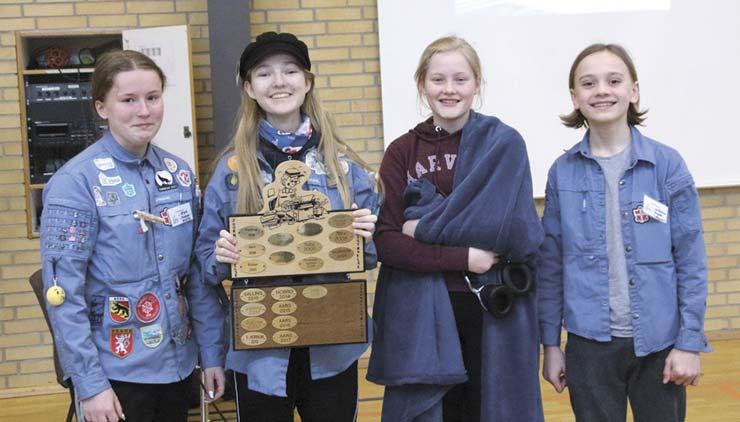 FDF Støvring vandt årets udgave af Journalist Øvelse i Aars