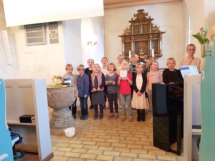 Fornem start på en ny tradition - Grøn gudstjeneste i Suldrup kirke