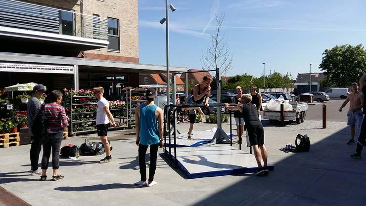 Aalborg Street Workout inspirerede til udendørstræning