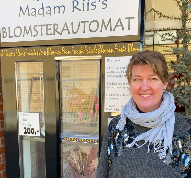 Blomstrende førstehjælp hos Madam Riis i Støvring